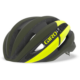 Giro Synthe MIPS Casco, matte olive/citron